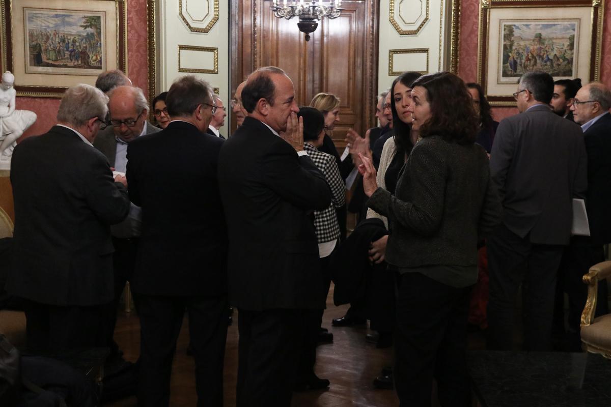 Asistente al 13º Consejo General del Plan Estratégico Metropolitano de Barcelona