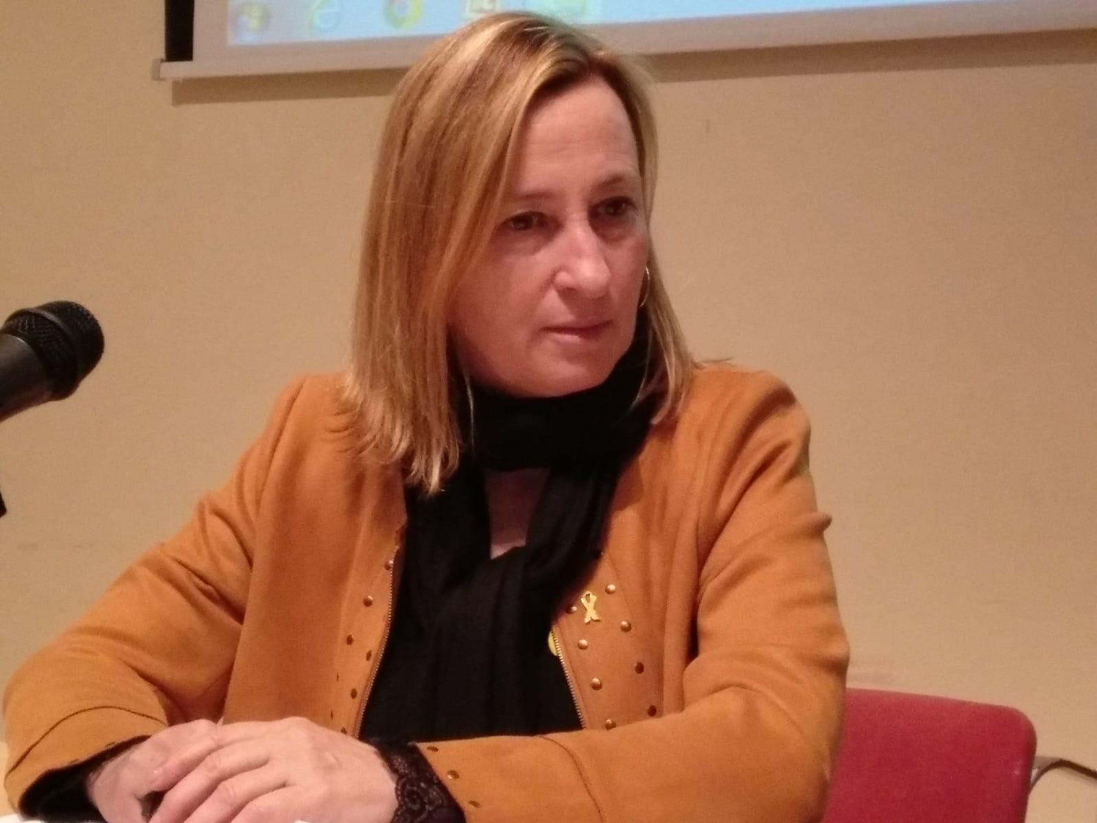 Maite Aymeric, alcaldessa de Sant Vicenç dels Horts