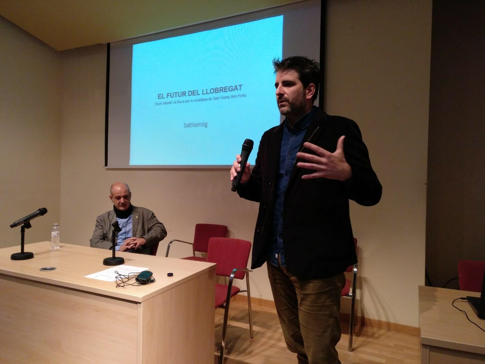 Intervención de Mario Sunyer, Estudi Batlle i Roig