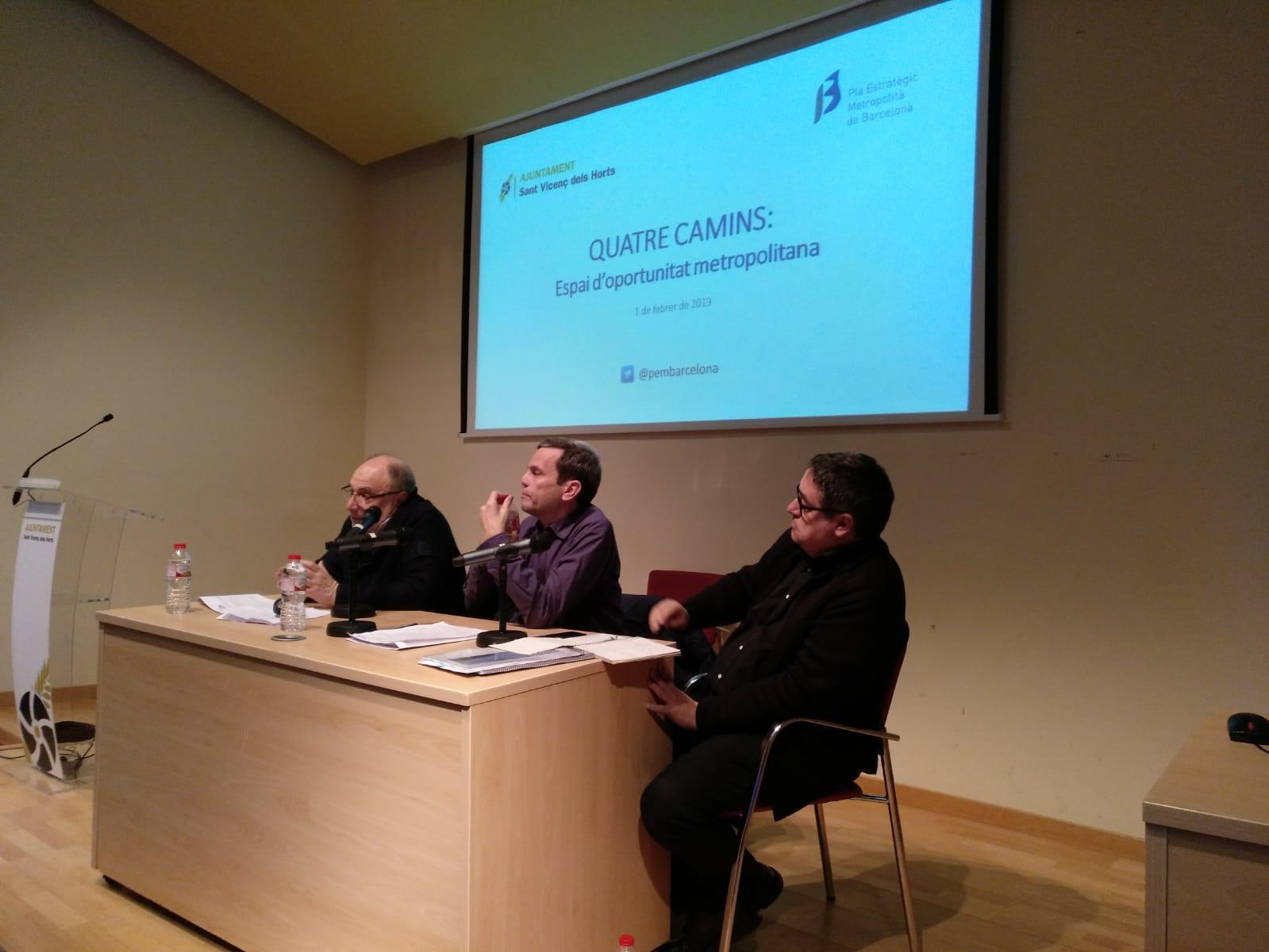 Héctor Santcovsky, Martín Gullón y Juan Carlos Montiel