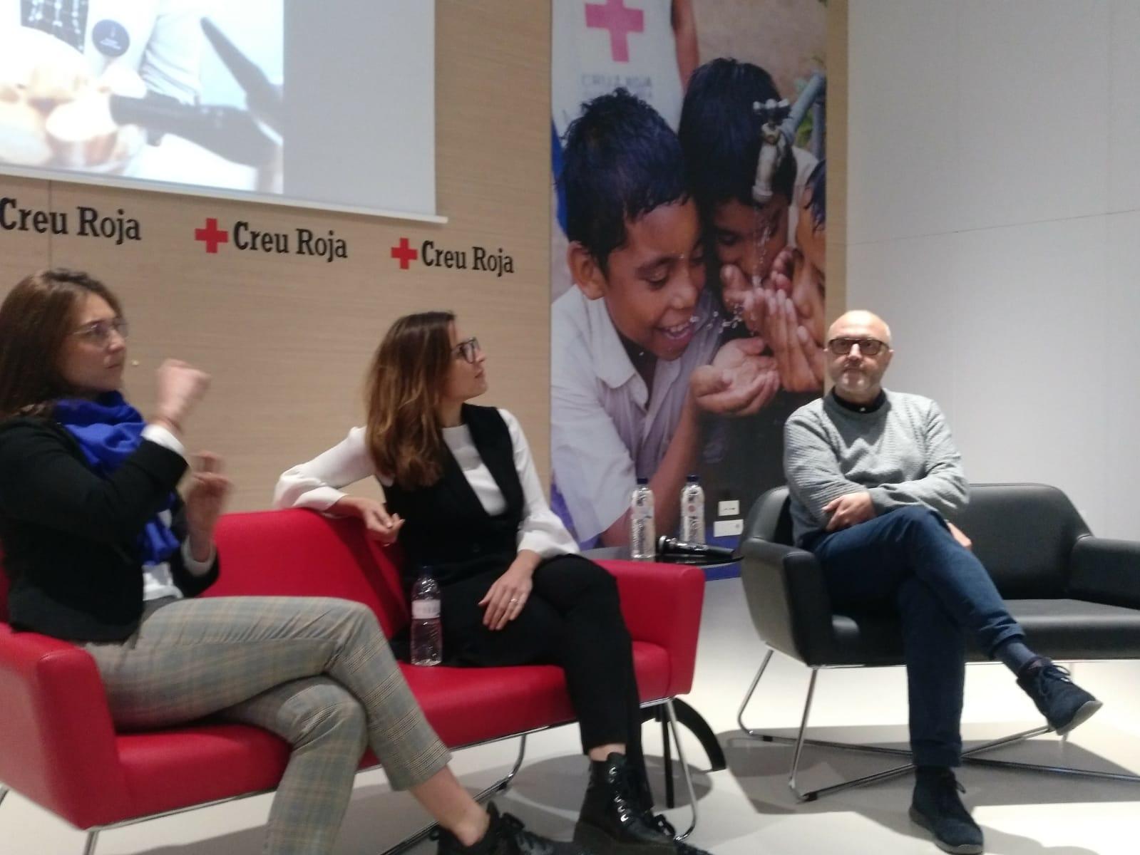 Presentación de los resultados del Food Mapping en la sede de la Cruz Roja