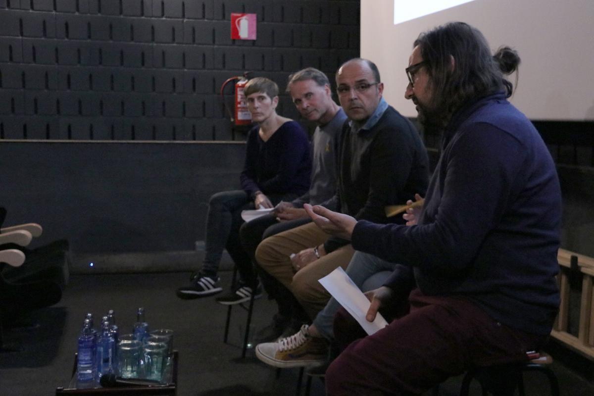 Intervención de Francesc Magrinyà (AMB) durante el Rincón de #Repensar