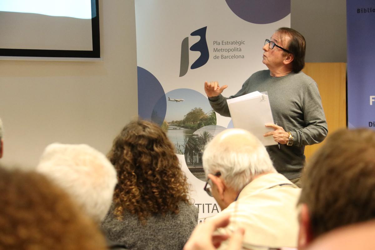 L?autor de ?Gentrificació i pauperització de les metròpolis, Josep Maria Pascual