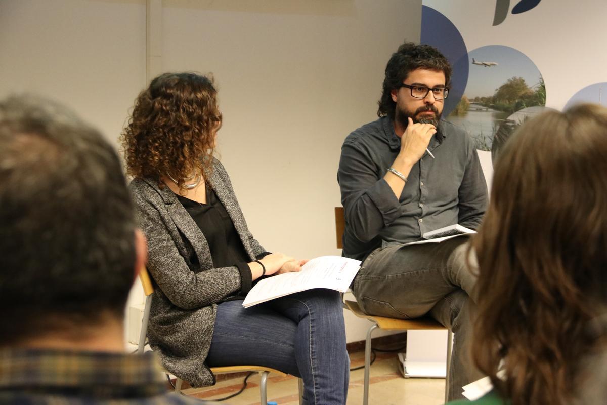 Sergio Porcel, cap de l?Àrea de Cohesió Social i Urbana de l?IERMB