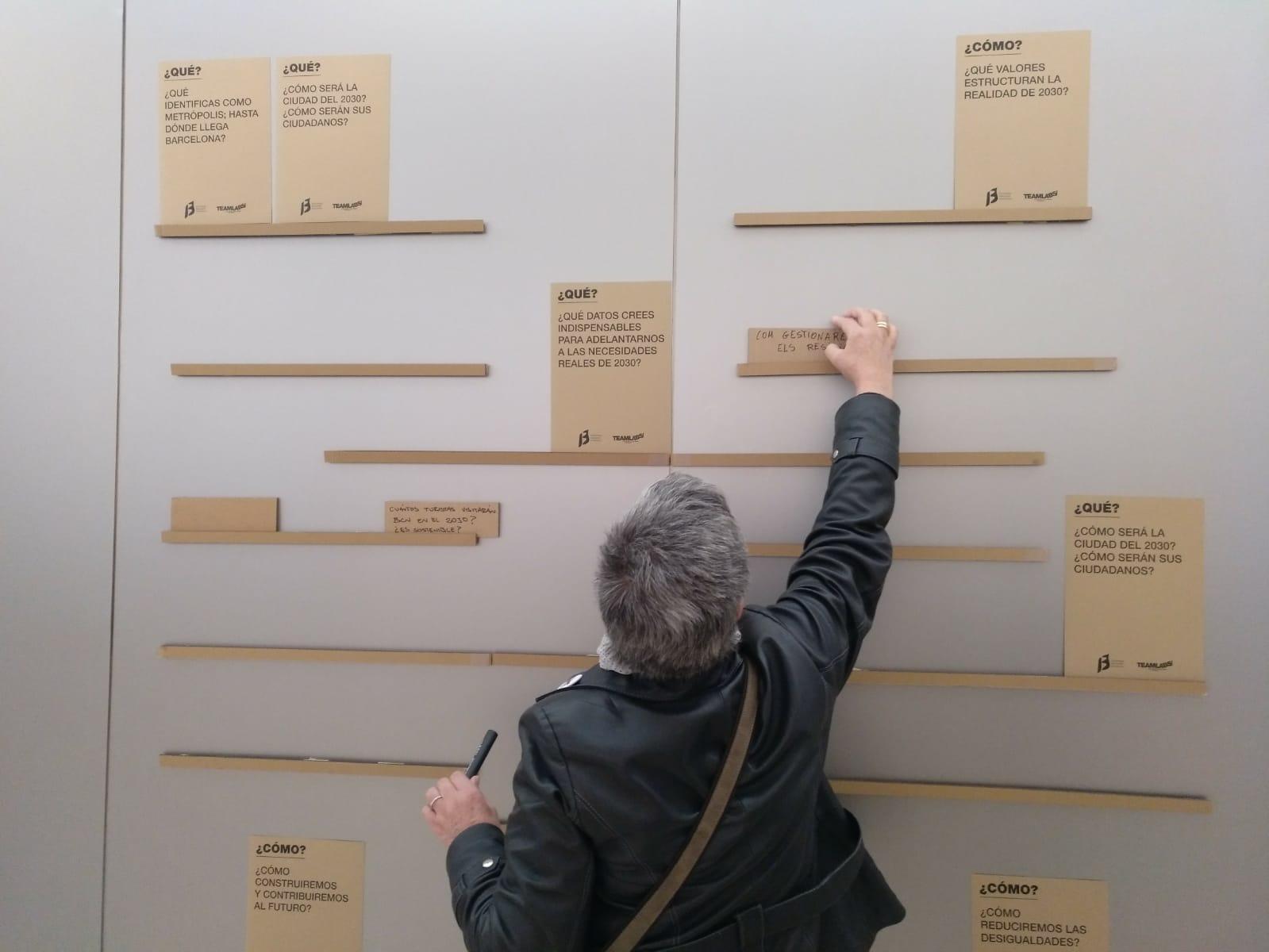 Experiència de participació ciutadana: formulació de preguntes