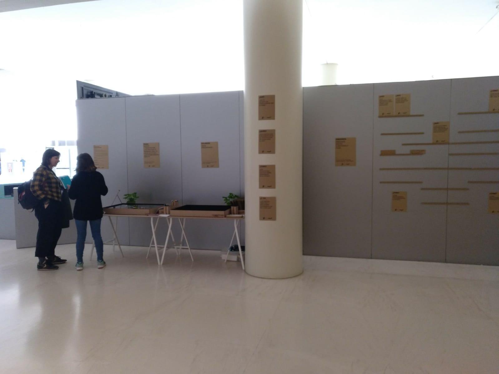 Vista general de l'espai al CaixaForum