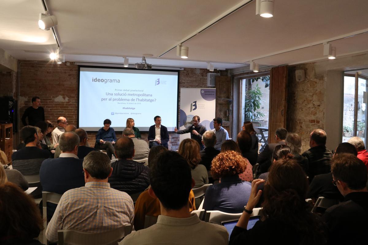 1r debate preelectoral: ¿Una solución metropolitana para el problema de la vivienda? Habla Francisco Garrobo de CUP Barcelona