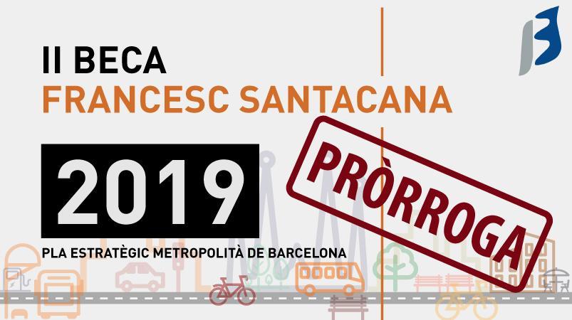 II Edició Beca Francesc Santacana