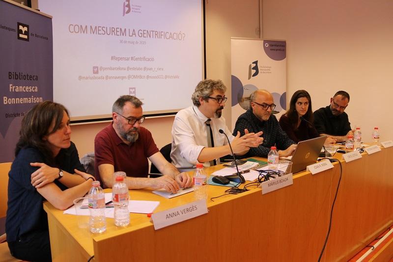 Segona sessió del cicle de gentrificació a la Biblioteca Francesca Bonnemaison
