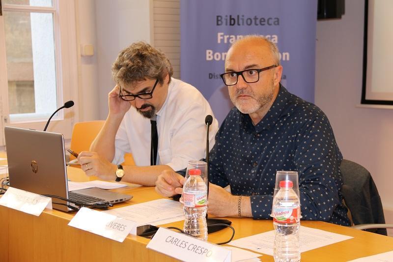 Oriol Estela, coordinador general del PEMB presenta el Rincón de Repensar sobre gentrificación