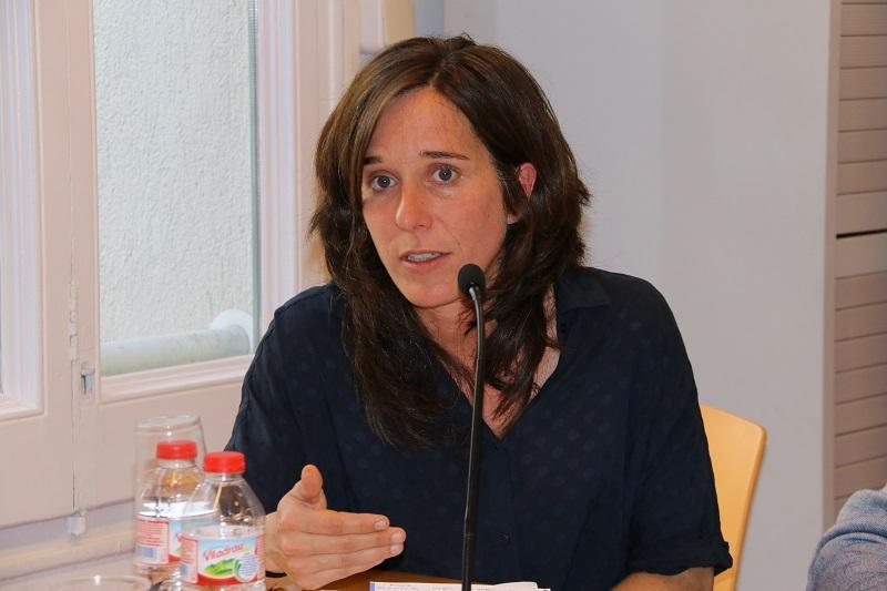 Intervención de Anna Vergés, directora del Observatorio de la Vivienda