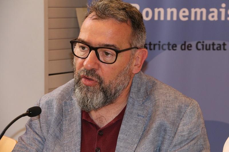 El director de la Oficina Municipal de Datos de Barcelona del Ayuntamiento de Barcelona, Màrius Boada