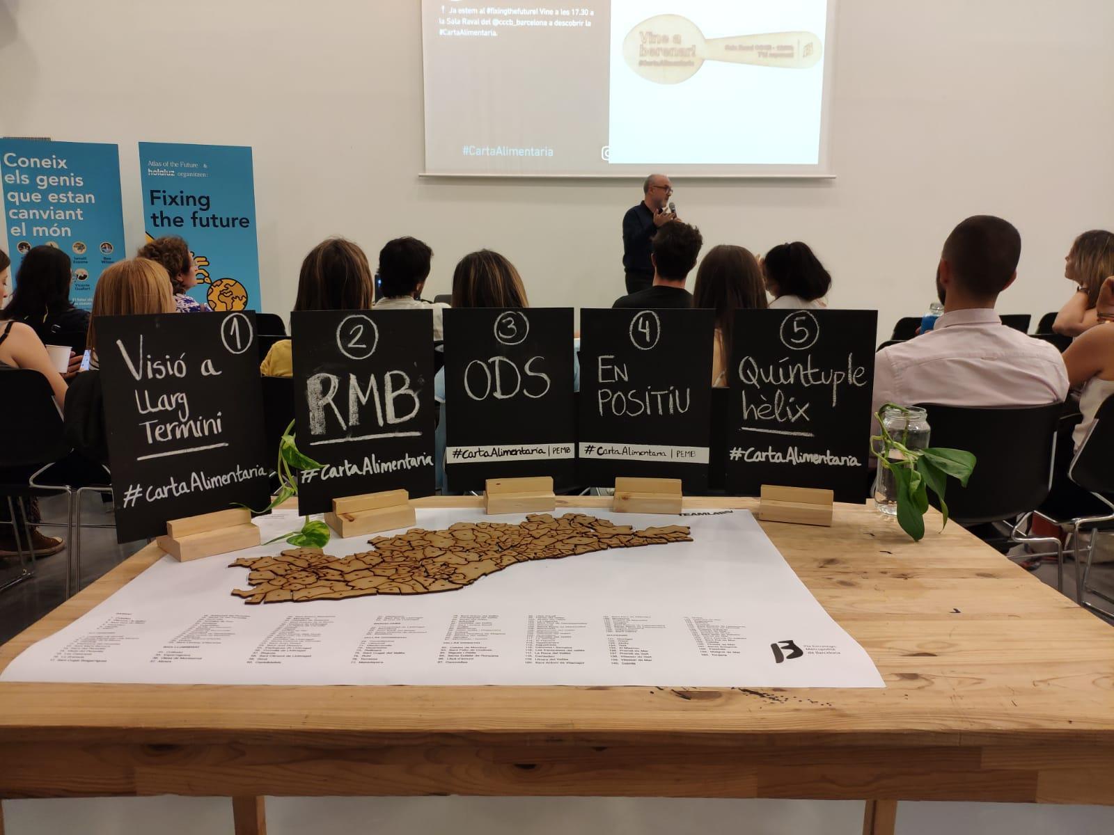 Presentación de la CARM en la Sala Raval del CCCB