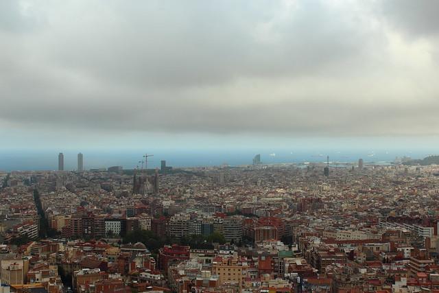 Barcelona des del Turó de la Rovira. Albert Torelló