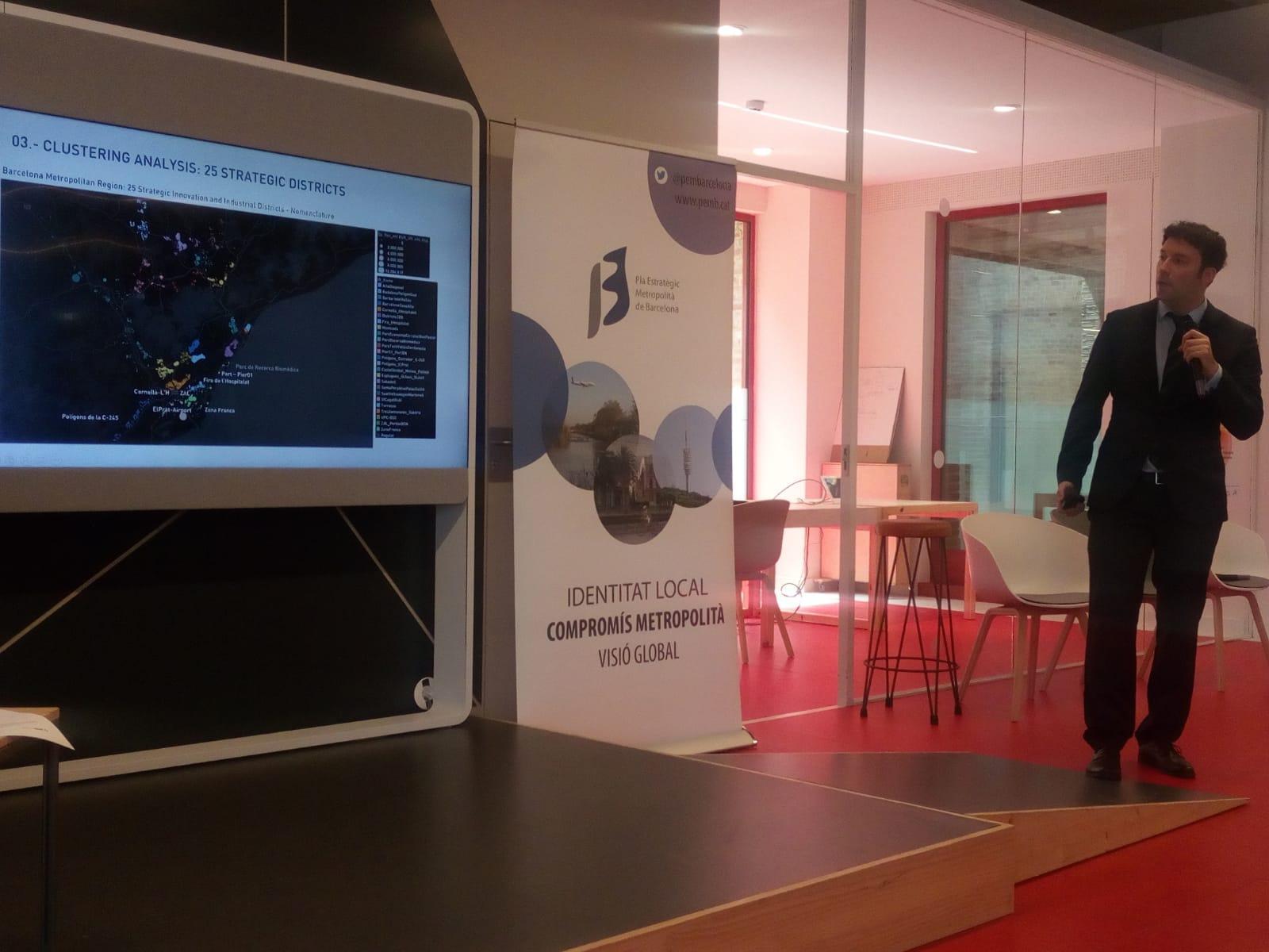 El investigador de Harvard y cofundador de Aretian durante la presentación