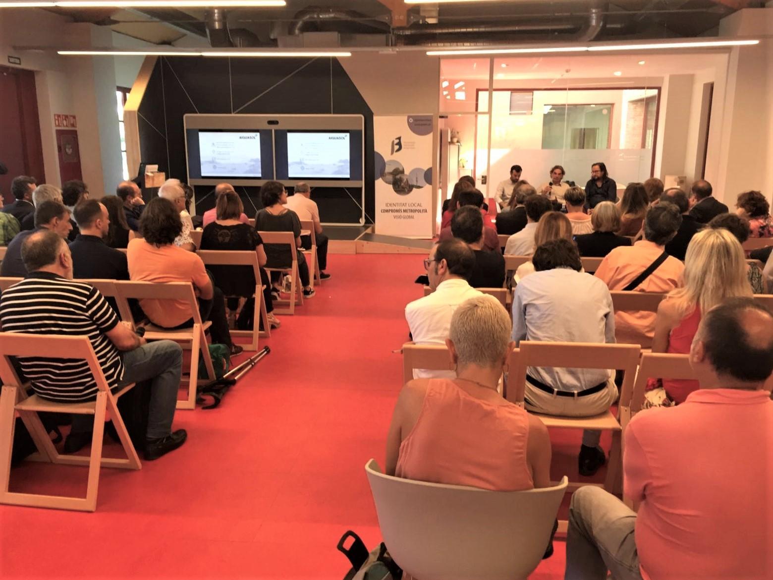 Debate con los y las asistentes a la presentación de ?Polígonos de Actividad Económica: un actor importante en la transición energética?