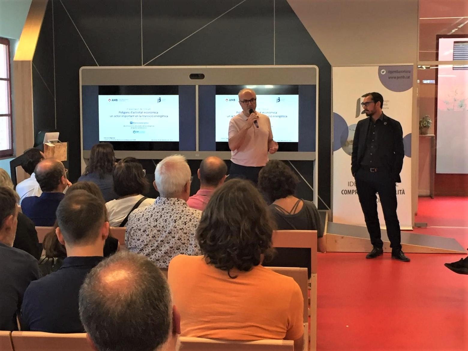 Benvinguda a càrrec d'Oriol Estela Barnet i Miquel Rodríguez