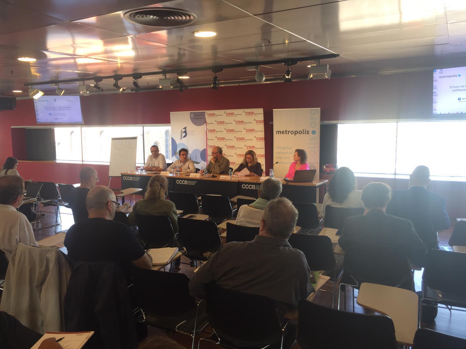 Curs: 'El futur de la governança metropolitana: polítiques, partenariats i co-producció'
