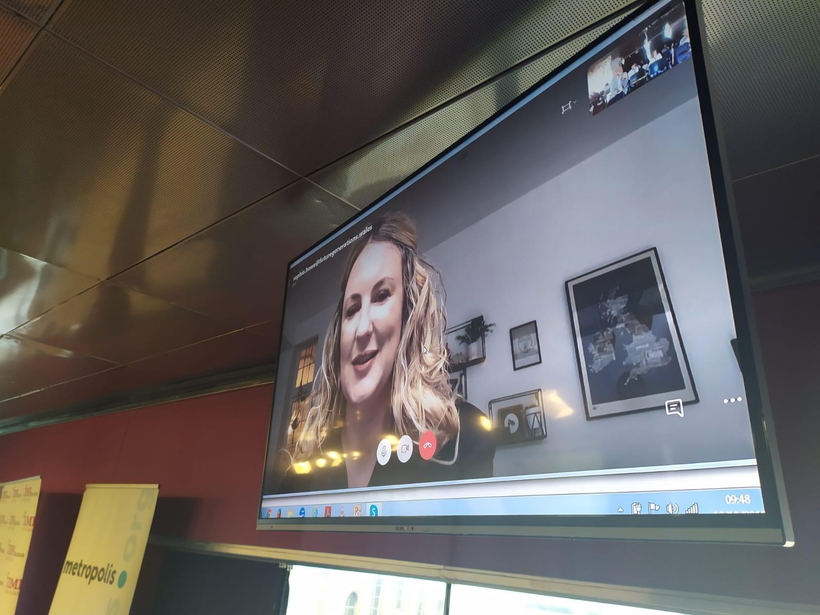 Vídeo-conferència amb Sophie Howe, Future Generations Comissioner for Wales