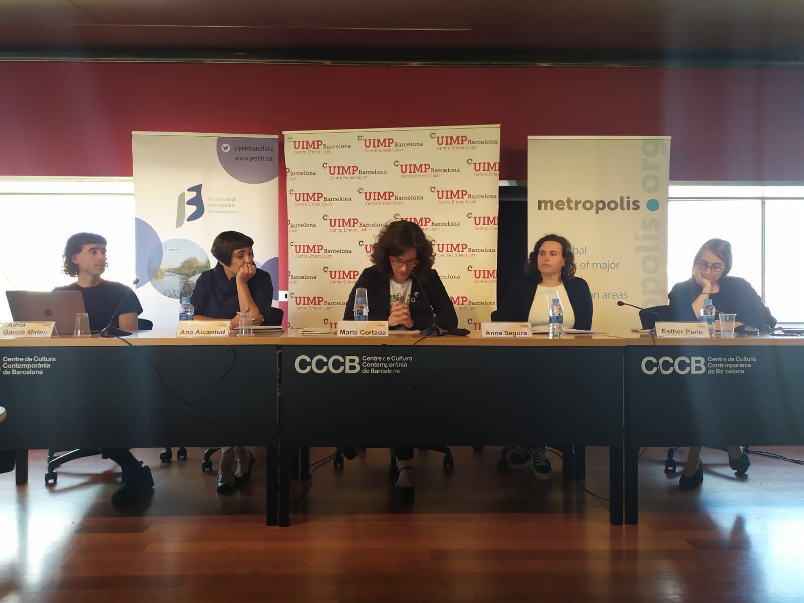 Taula rodona 'Noves tendències en les polítiques públiques', moderada per Maria Cortada, del PEMB