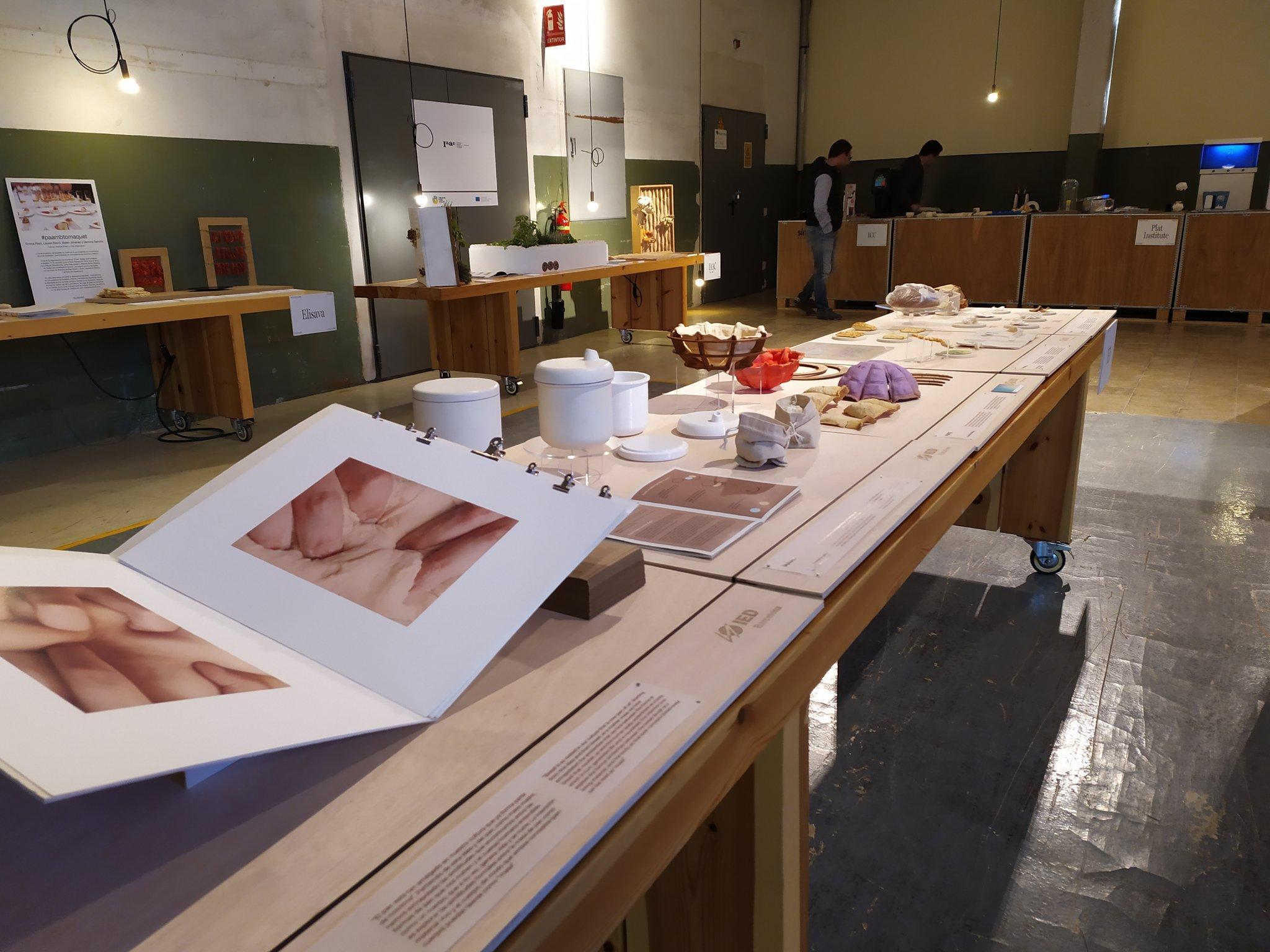 Workshop de Plàstic Preciós la Safor, patrocinat pel PEMB, al FOODTURE Barcelona