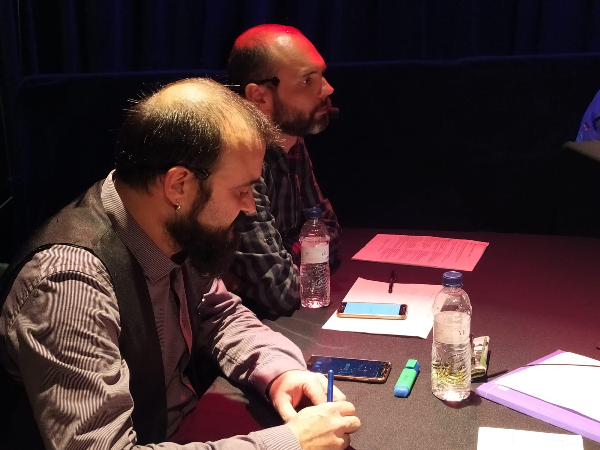 Cysko Muñoz i Marc Garcia, de 'Cultura Excèntrica'