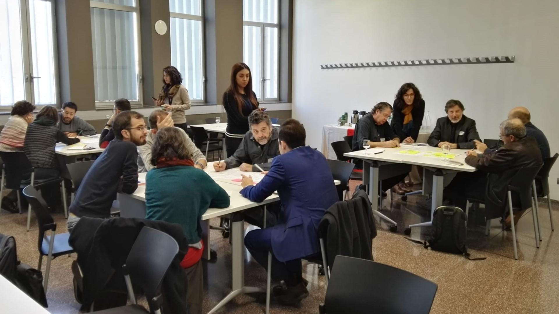 4a sesión del porceso participativo sobre el Avance del PDU Metropolitano en el Campus Diagonal-Besòs