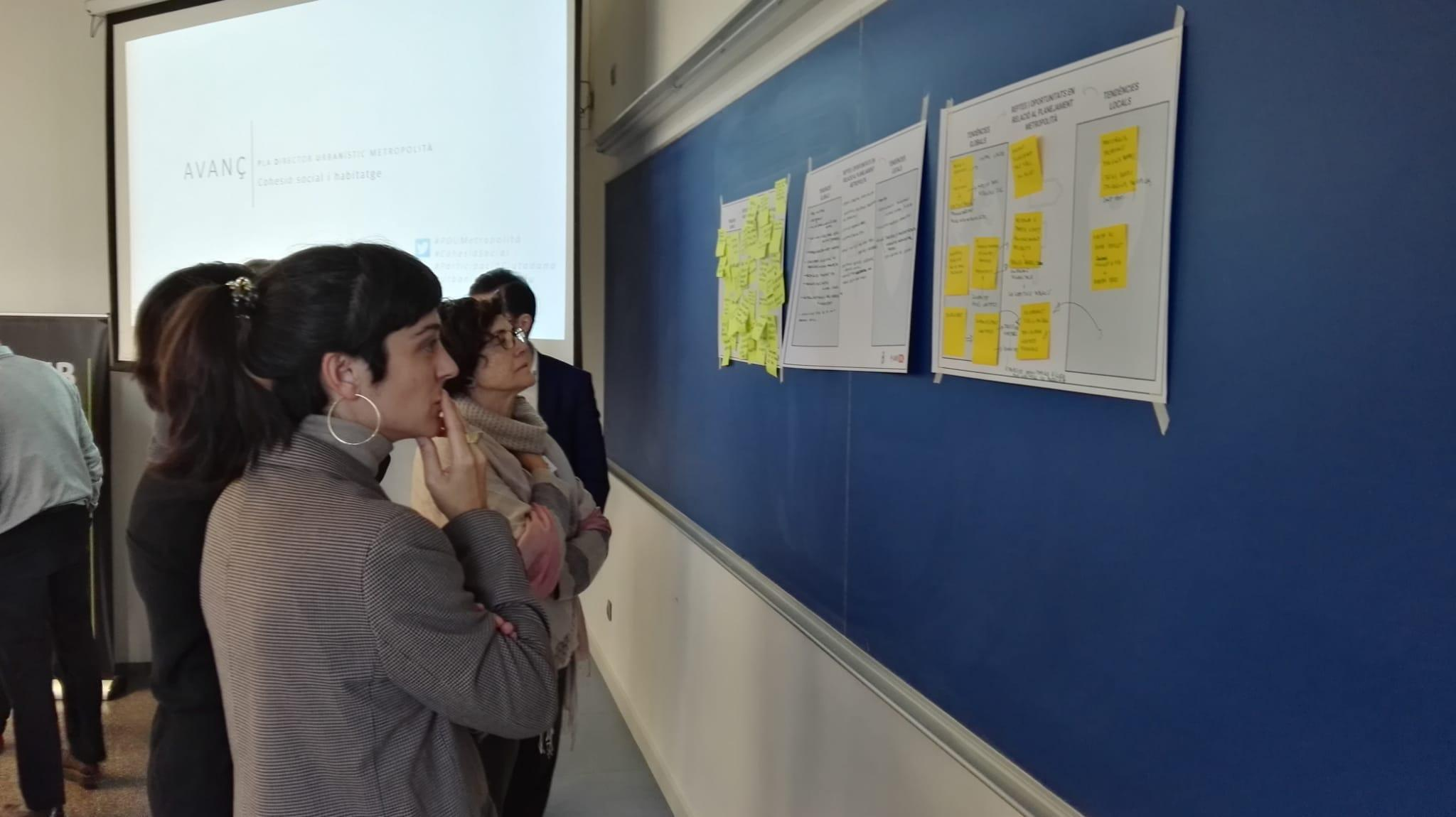 El Campus Diagonal-Besòs acull la 4a sessió de participació sobre l?Avanç del PDU Metropolità coorganitzada pel PEMB i l?equip AMB-PDU