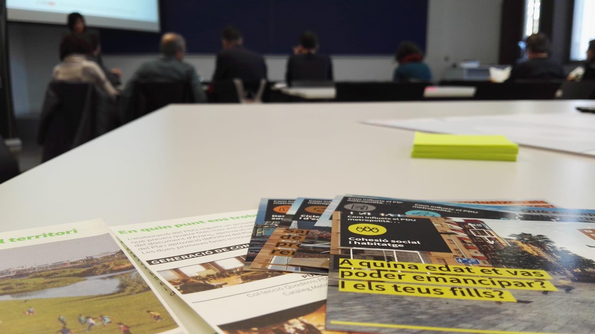 Cohesió social i habitatge són les temàtiques de la 4a sessió de participació al voltant de l?Avanç del PDU Metropolità