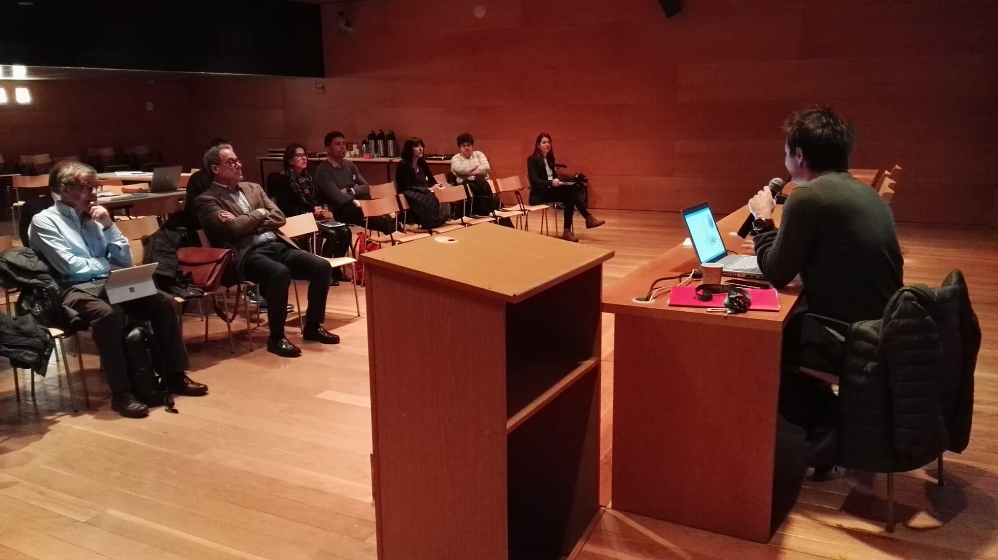 Xavier Mariño explica els antecedents i la situació actual de l'Avanç del PDU Metropolità