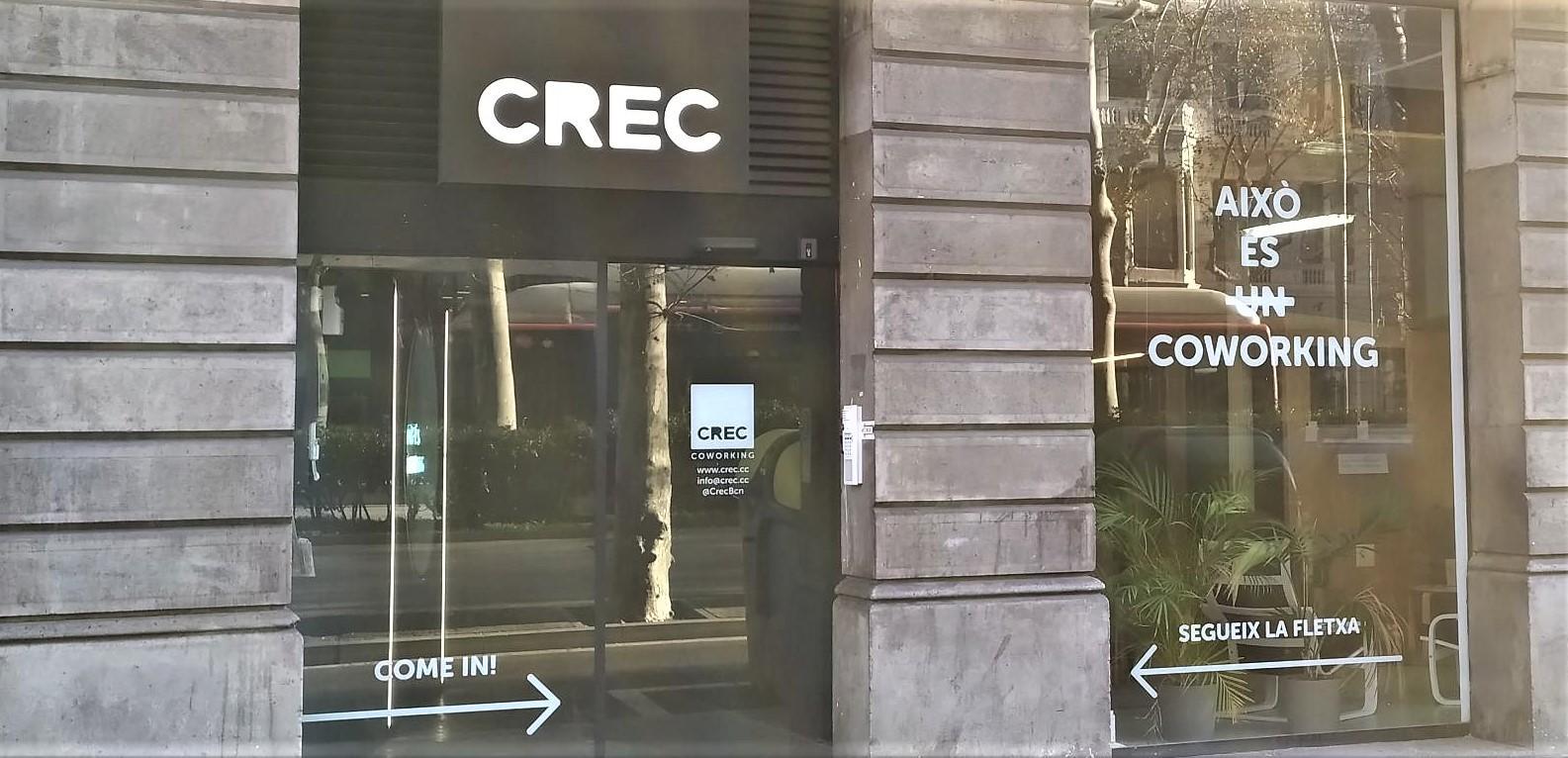 Espacio CREC en el Ensanche derecho de Barcelona