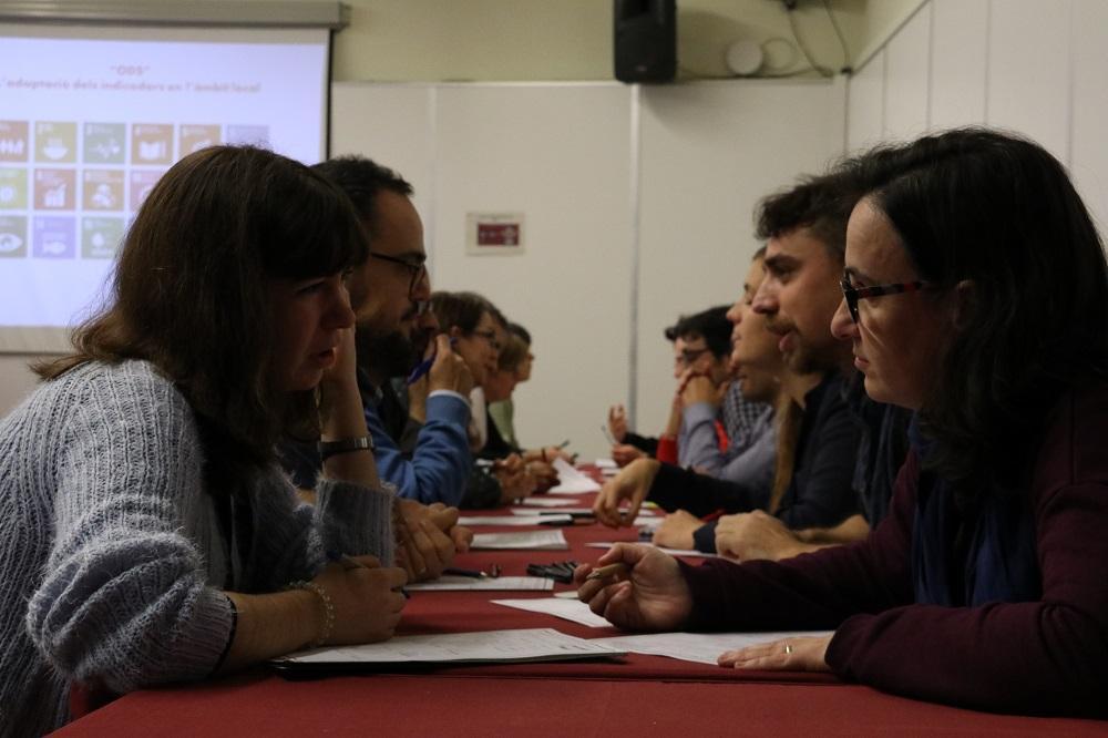 Grup de treball dels 'Indicadors locals ODS'