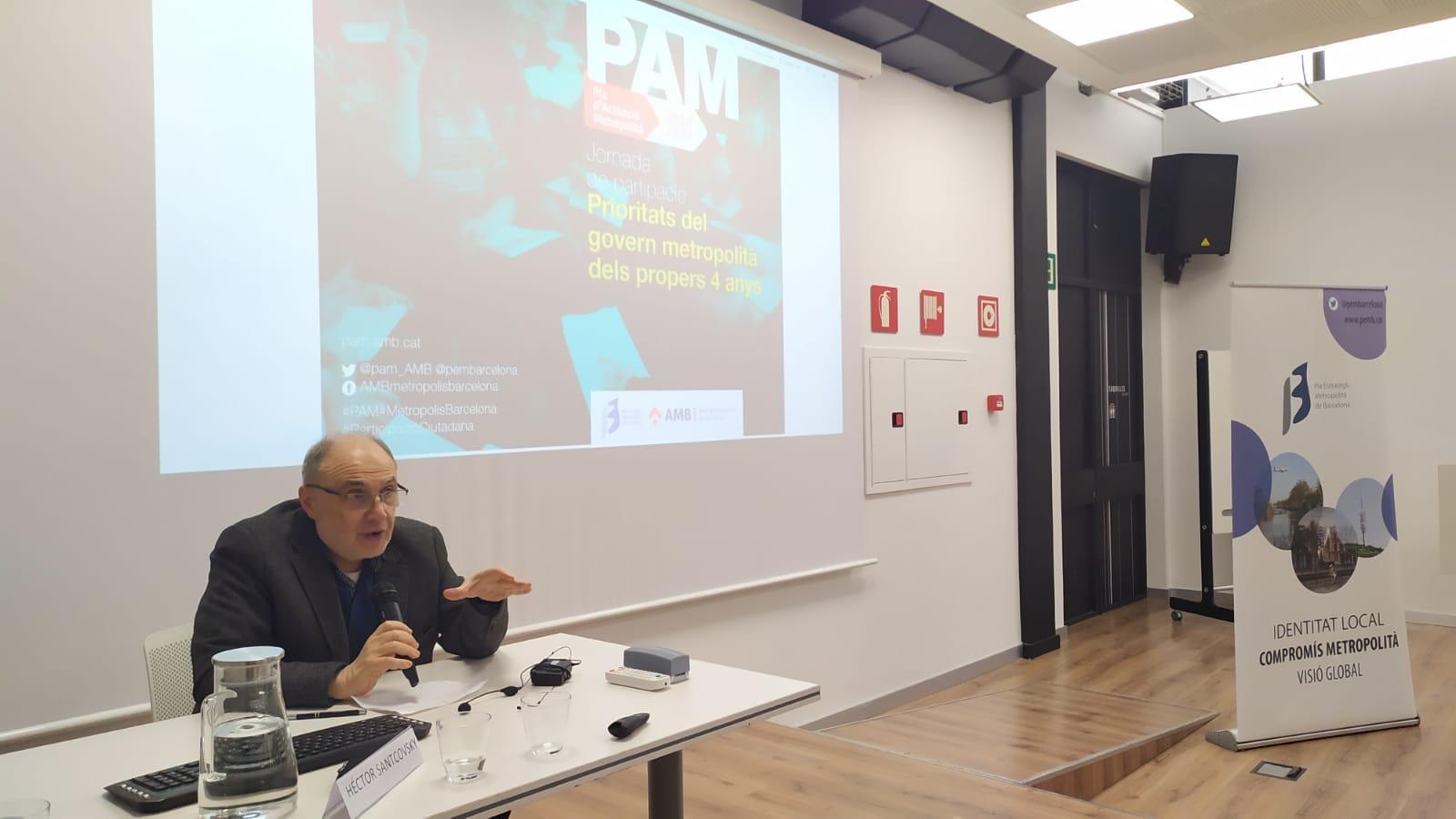 5.El Pla d'Actuació Metropolità (PAM) estableix els programes, eixos, actuacions i accions a escala metropolitana
