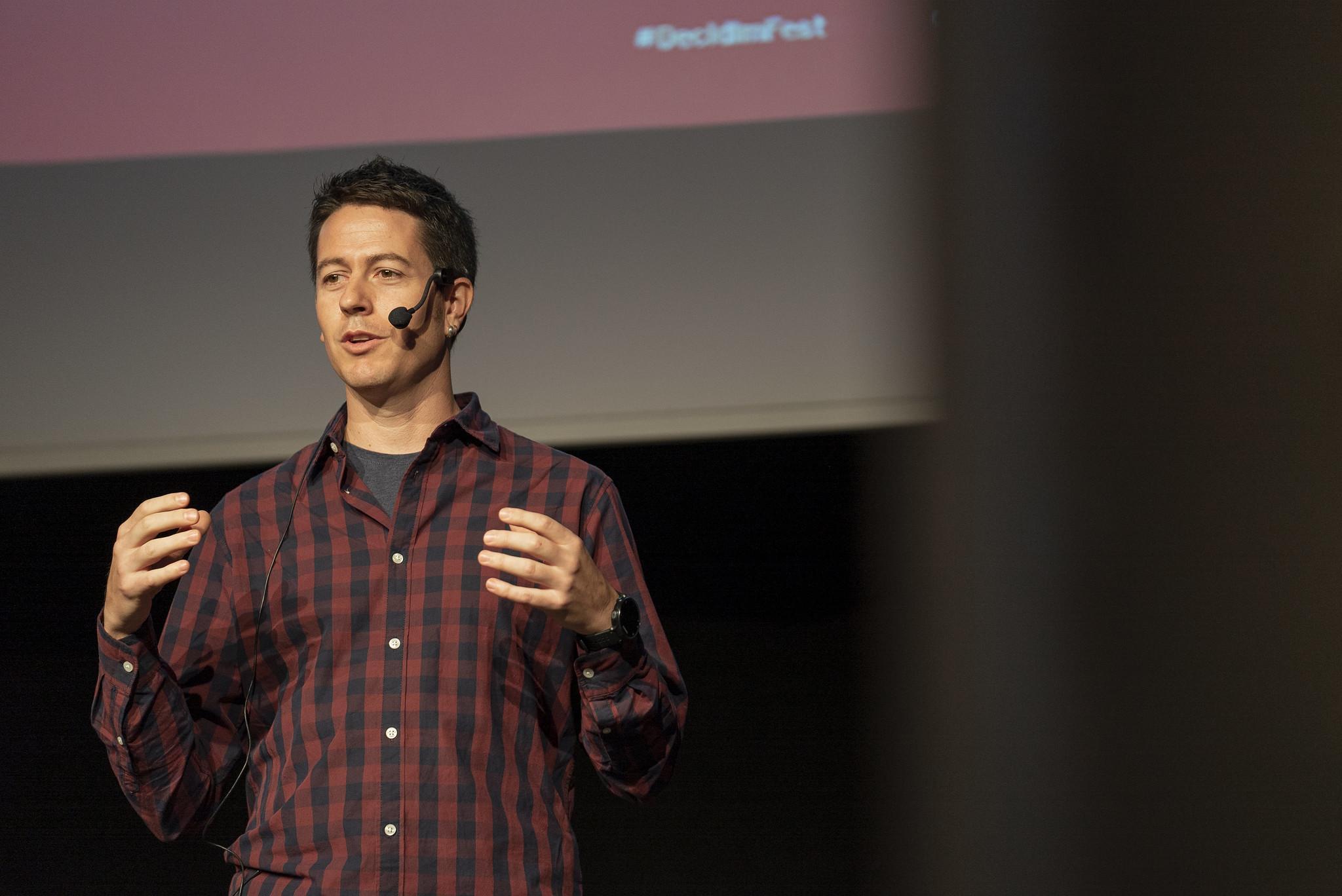 Arnau Monterde, director d'Innovació Democràtica a l'Ajuntament de Barcelona. Foto: Bru Aguiló