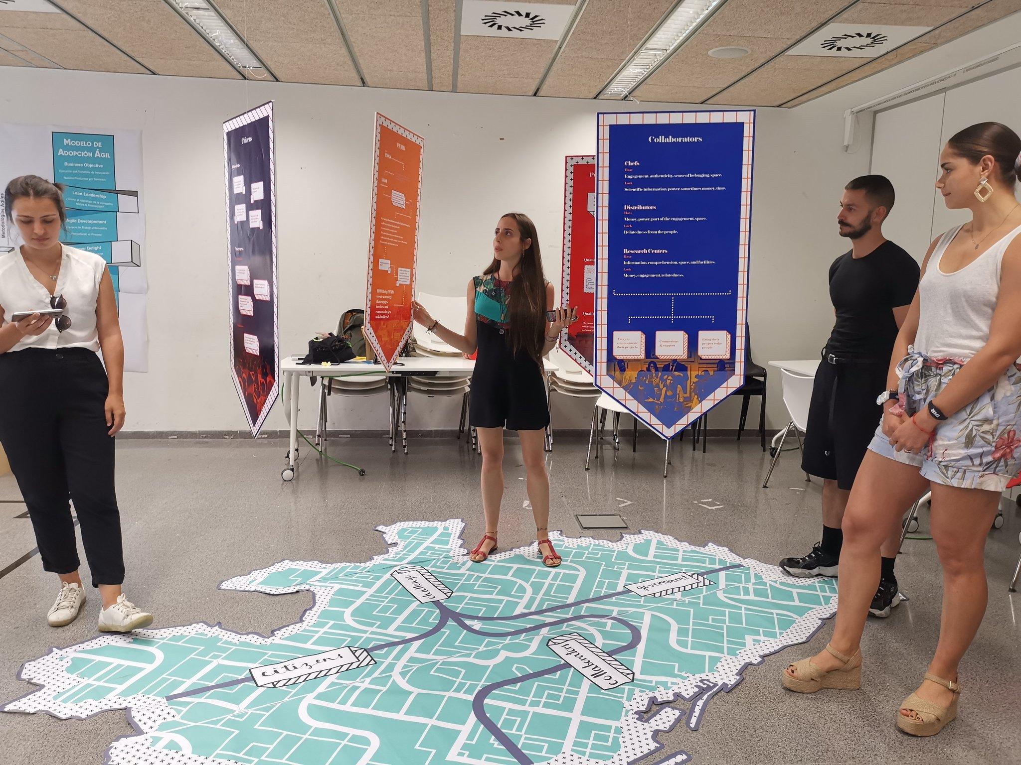 Proyecto 'Food Innovation Hub' con estudiantes de ELISAVA