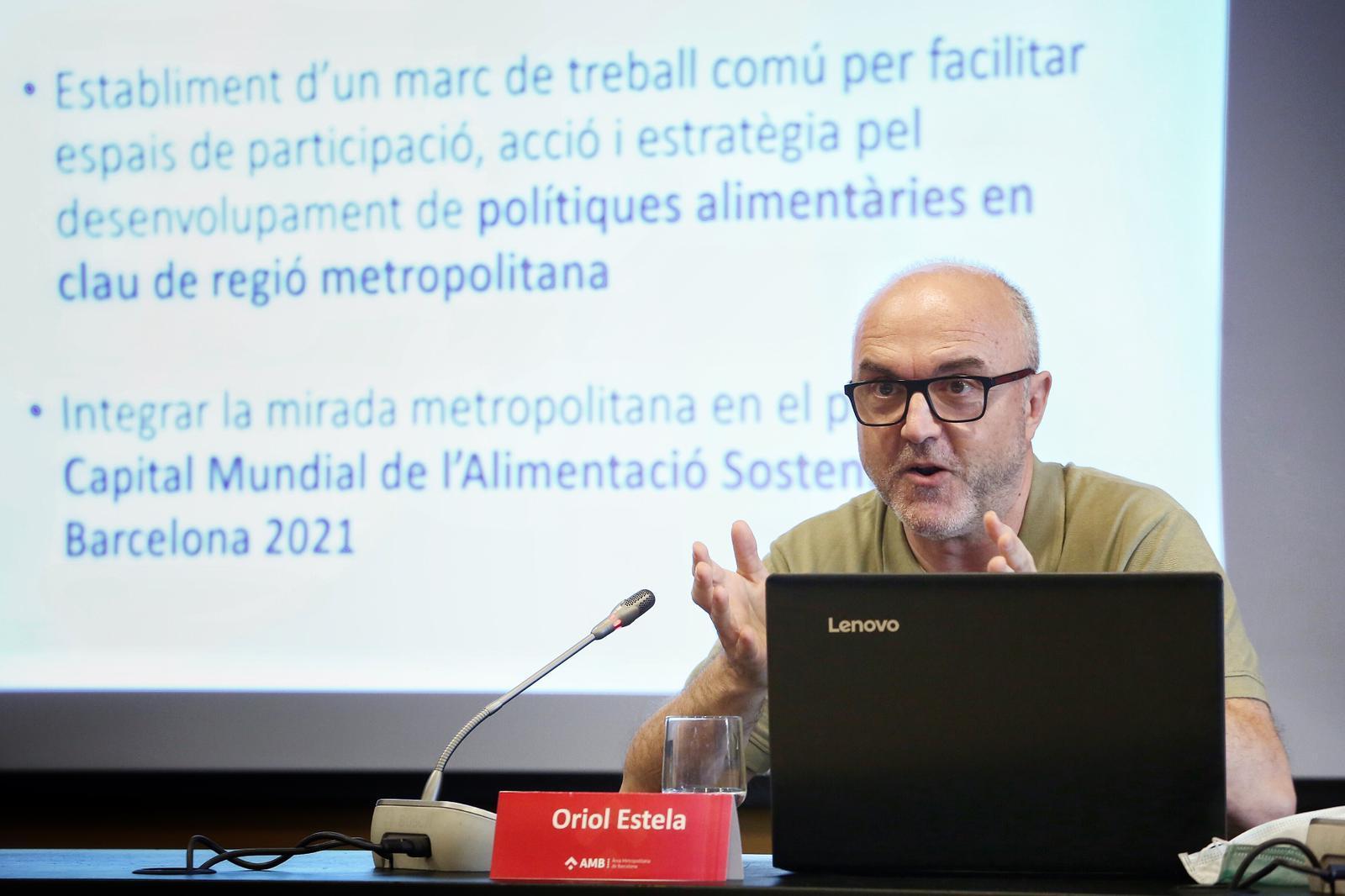 Oriol Estela durante la presentación de la CARM. Foto: Pere Virigil