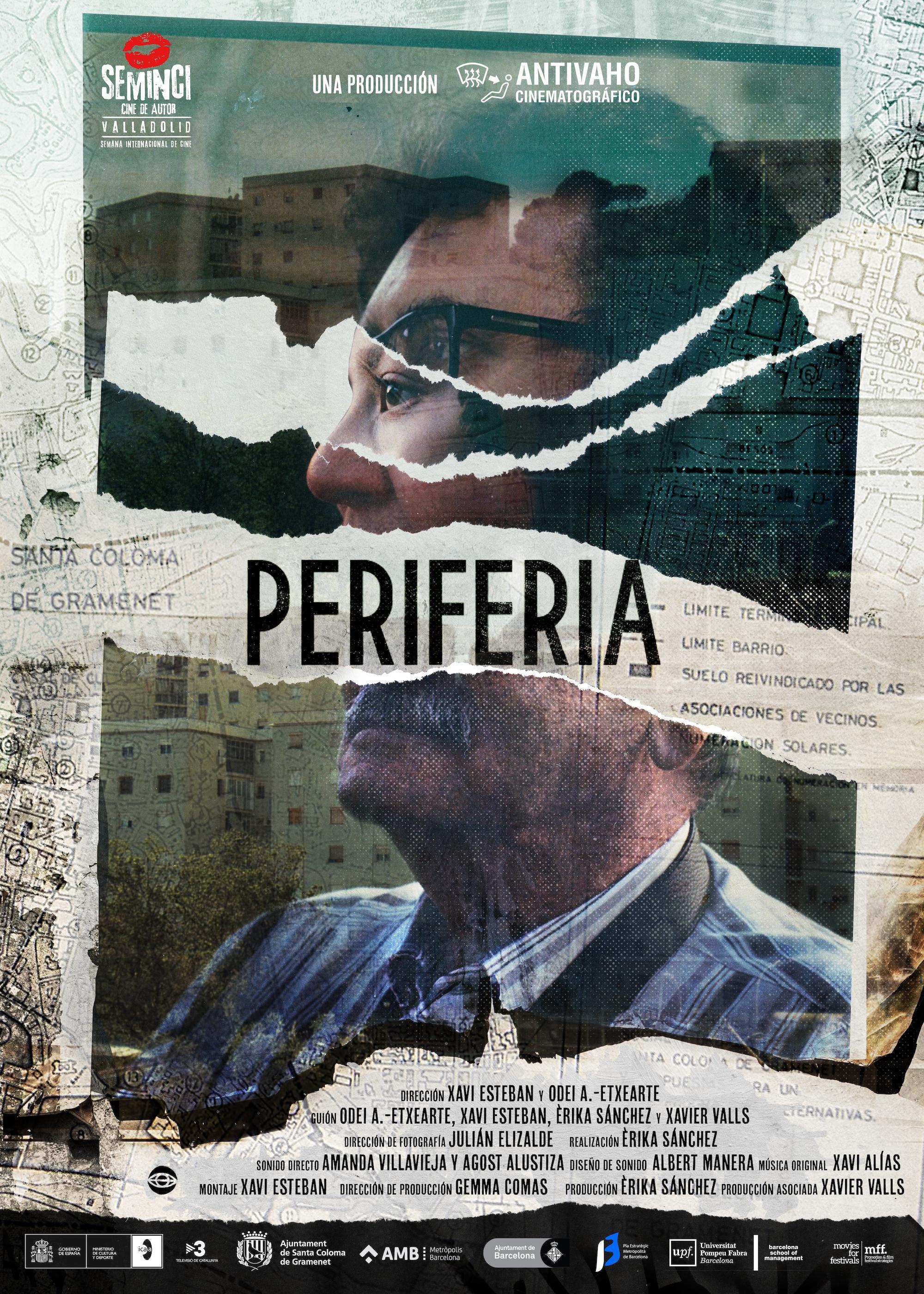 Pòster del documental 'Perifèria'