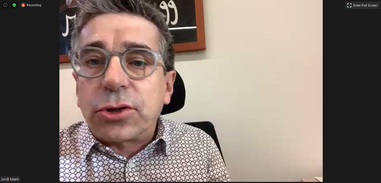 El president de la Comissió Executiva del PEMB, Jordi Martí Grau