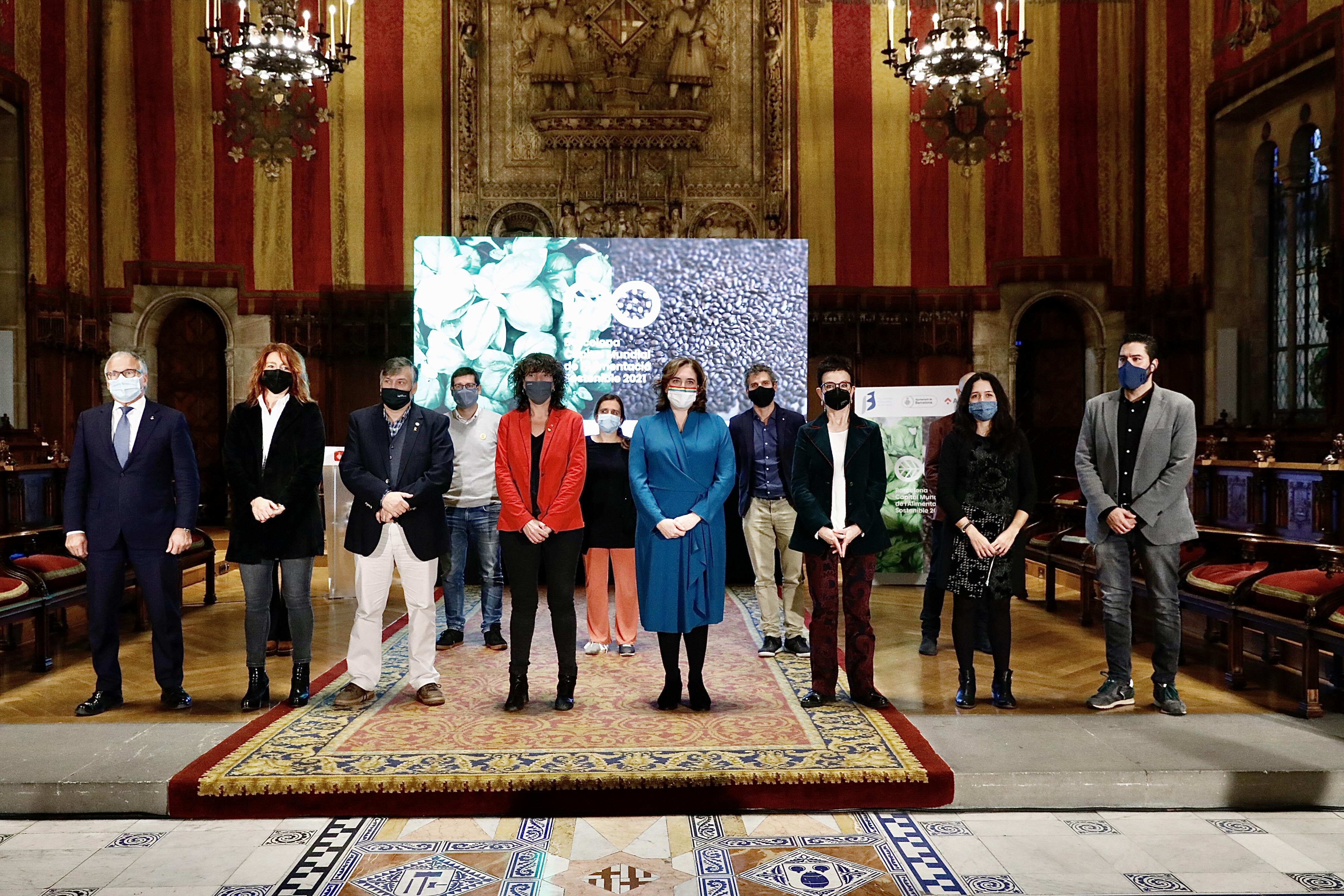 Presentació de Barcelona Capital Mundial de l'Alimentació Sostenible 2021
