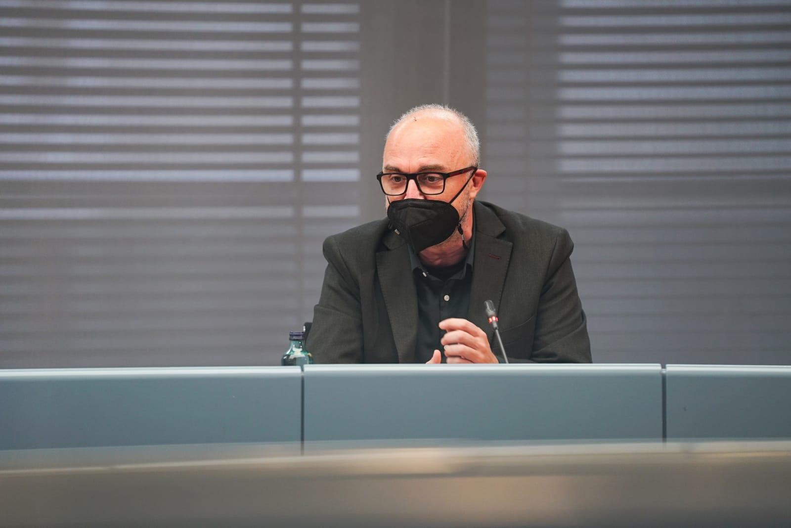 El coordinador general del PEMB, Oriol Estela Barnet Títol