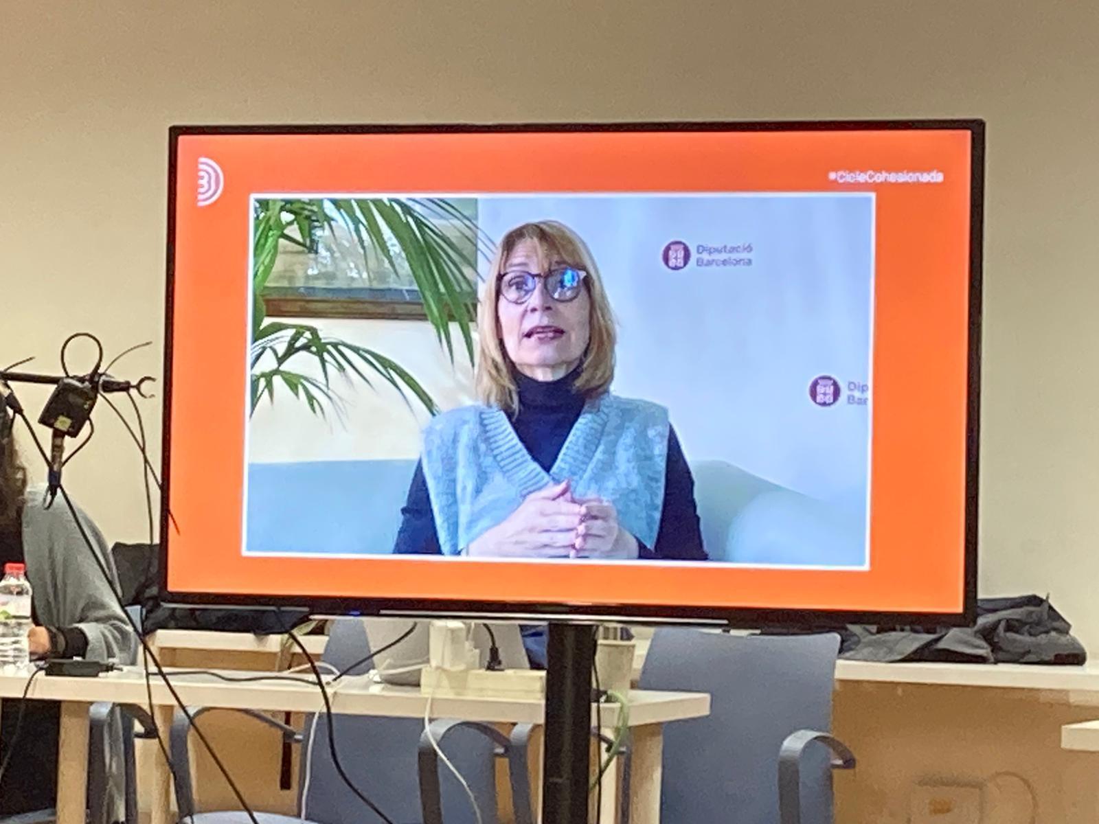 Lluïsa Moret,diputada delegada de l?Àrea d?Igualtat i Sostenibilitat Social de la Diputació de Barcelona