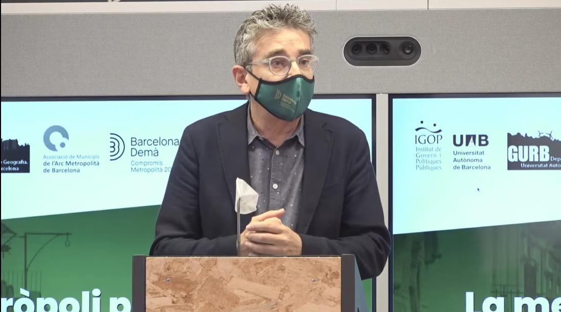 El presidente de la Comisión Ejecutiva del PEMB, Jordi Martí