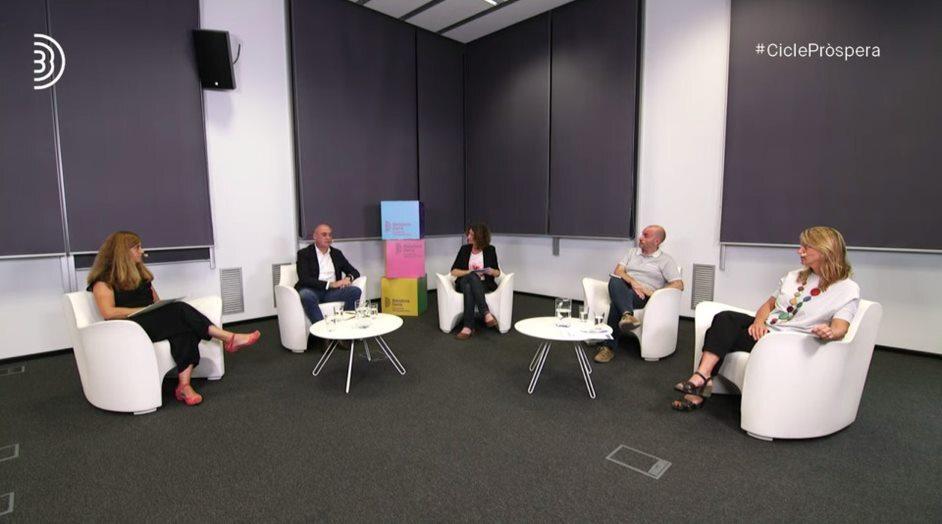 Mesa 2: Anna Majó, Mariano Martínez, Mónica Peinado, Jordi Marín, Sònia Callau