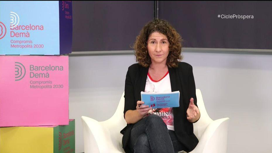 Mónica Peinado, moderadora de la Taula 2