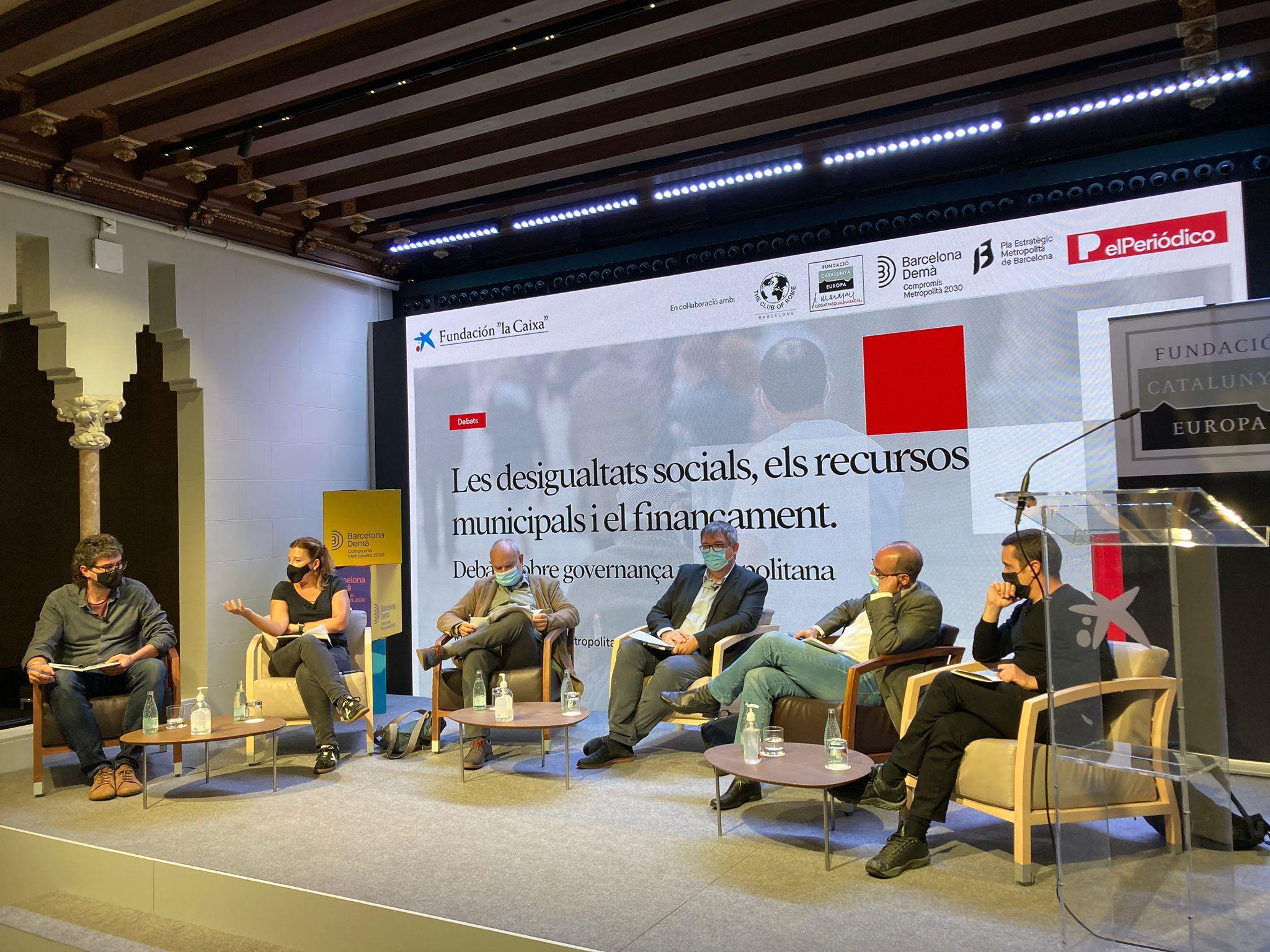 1a taula: La segregació urbana i les desigualtats socials a la Barcelona metropolitana
