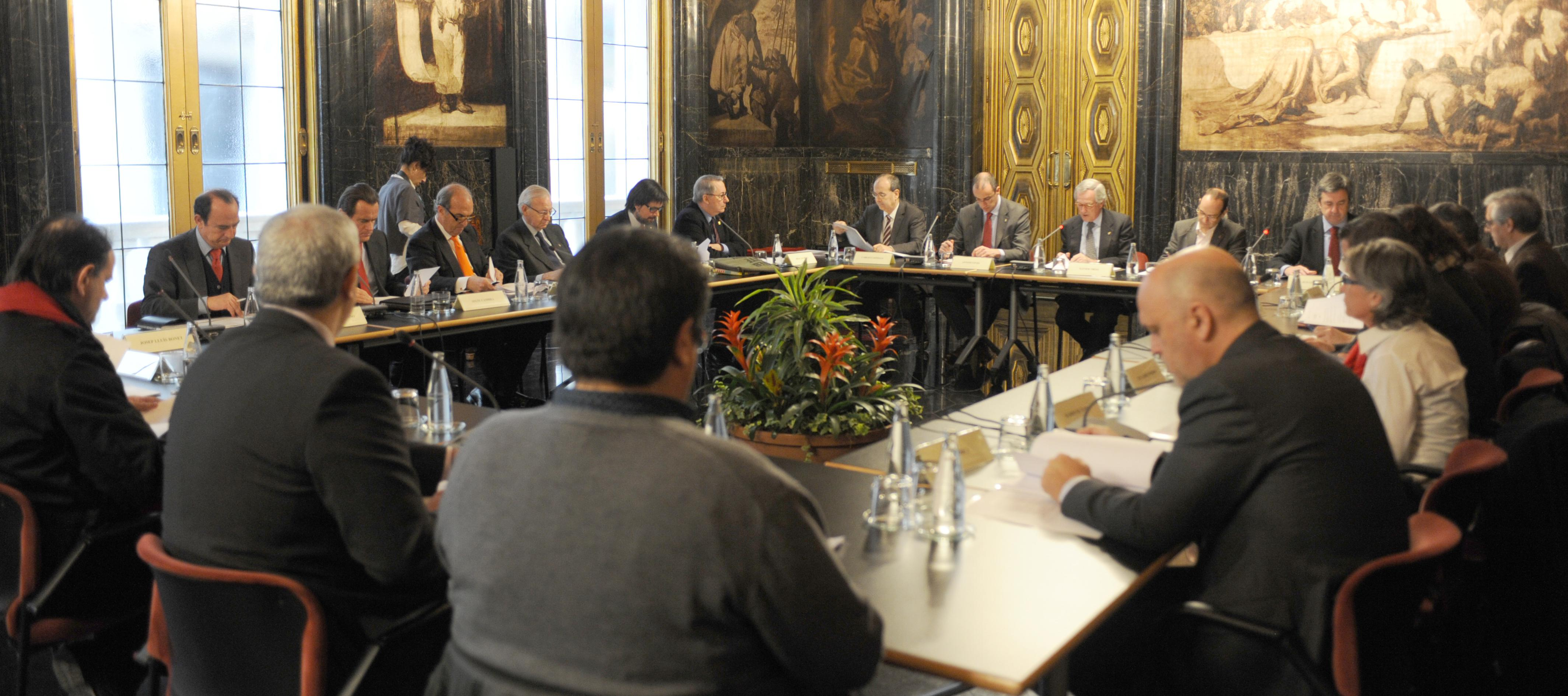 Consell Rector, 26 de gener 2015, Ajuntament de Barcelona