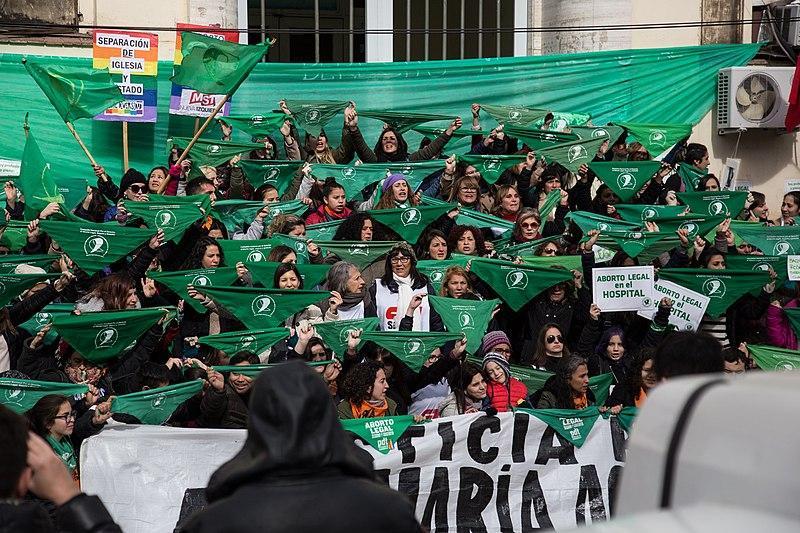 Pañuelazo por el derecho al aborto legal, seguro y gratuito - Santa Fe - Santa Fe - Argentina - Hospital - Iturraspe