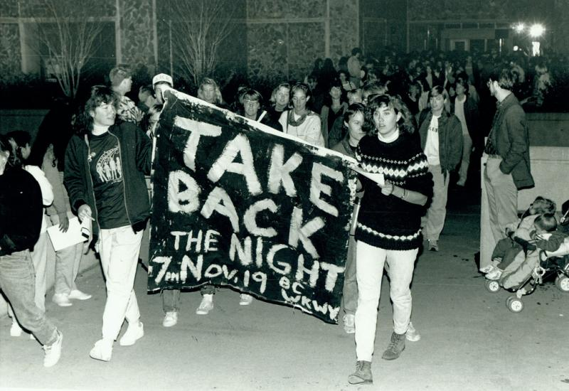 Take back the night 1987