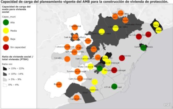 Mapa càrrega habitatge de protecció AMB