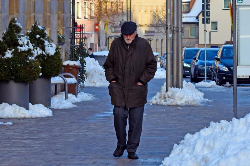 soledad y gente mayor